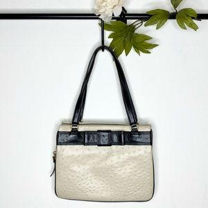 Kate Spade 'Darcy Valencia' Ostrich Embossed Bag